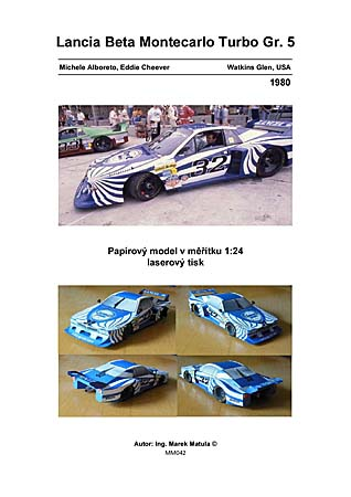 Lancia Beta Monte Carlo Turbo Gr 5 - 1980