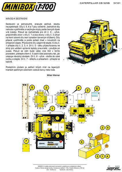 Caterpillar CB 525B